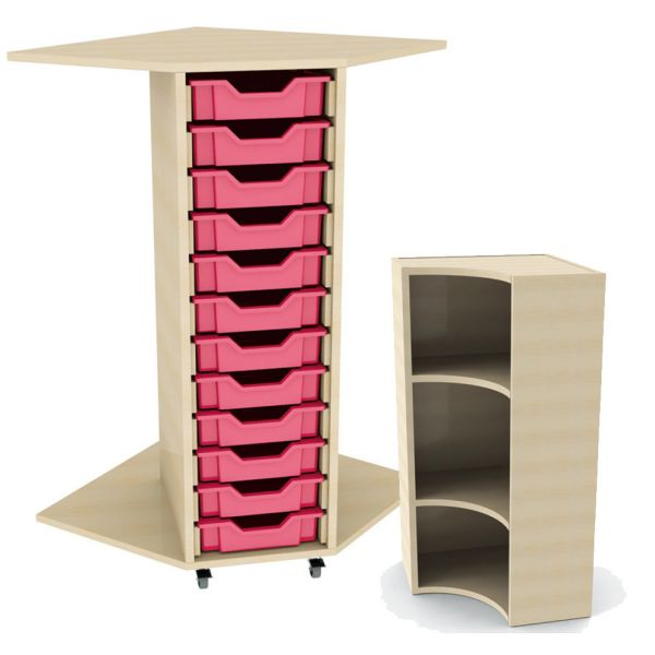 Tray Storage Corner Unit