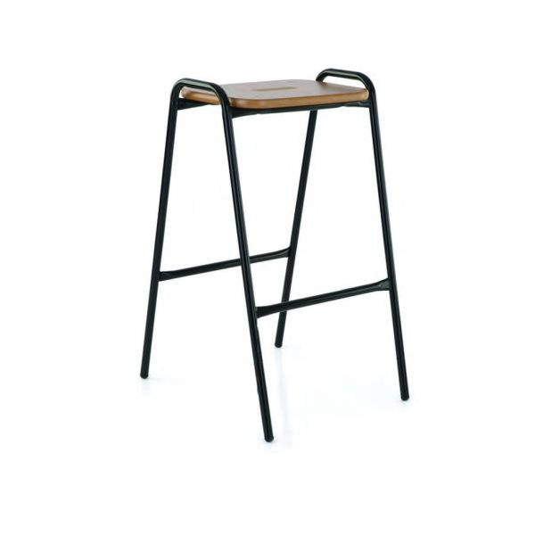 Plywood Top Stool