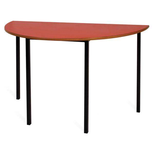 Newport PVC Semi-Circular Table