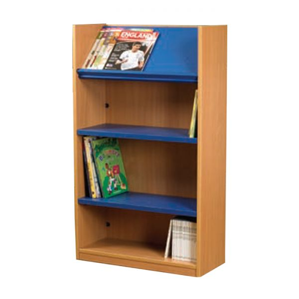 Nexus 1047mm Wide Double Sided Display Top Bookcase