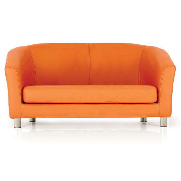 Kiddie Designer Double Tub Chair Orange