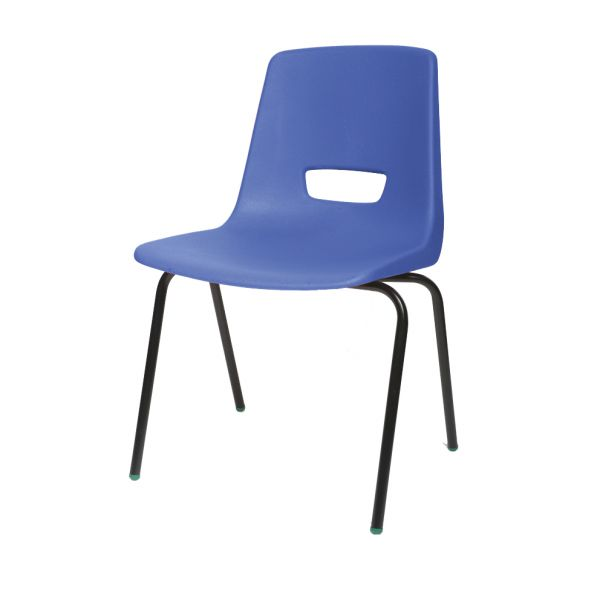 P3 Polypropylene Classroom Chair Blue