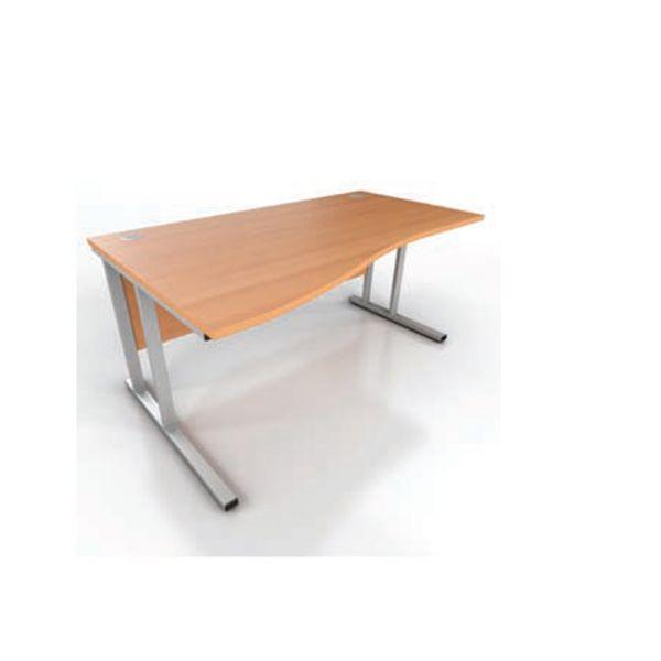 Prestige Wave Cantilever Frame Desk