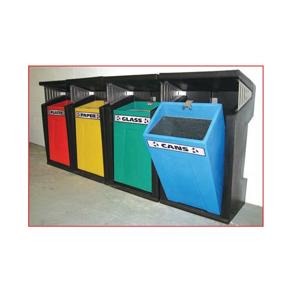 Key Free & Recycling Bins