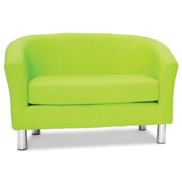 Adult Designer Double Tub Chair Lime