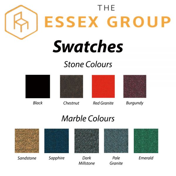 Stone and Marble Colour Swatches
