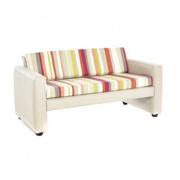Horizon Stripey Colours Sofa
