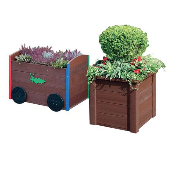 Train & Medium Box Planter