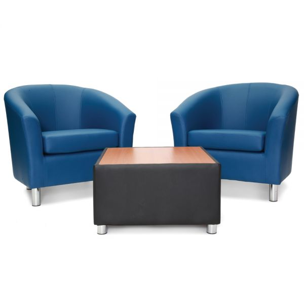 Tub Chairs with Coffee Table