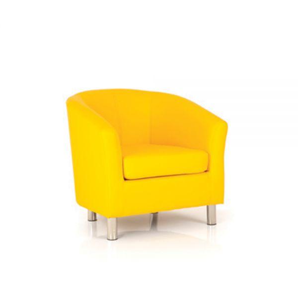 Kiddie Designer Single Tub Chair Yellow